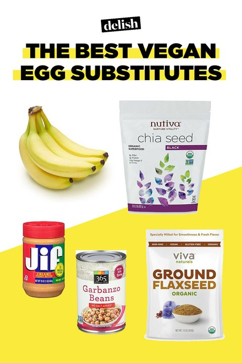vegan diet baking egg substitution