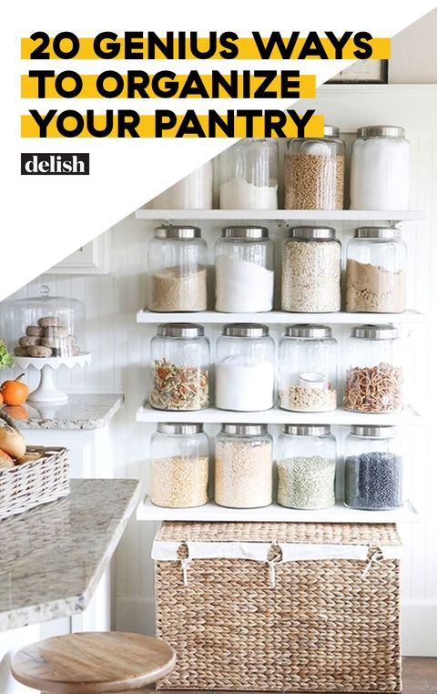 20 Genius Kitchen Pantry Organization Ideas - How to ...