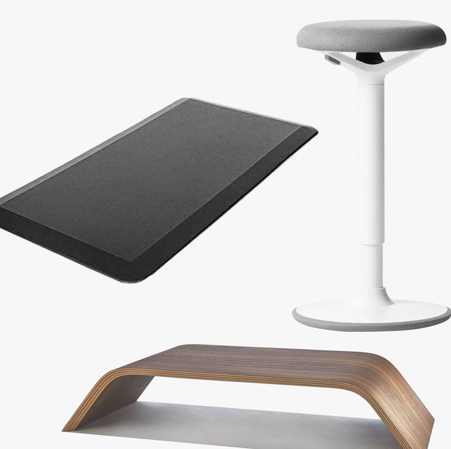 standing desk accessories stool mat monitor stand