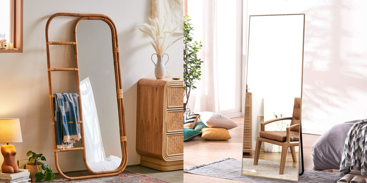 10 Selfie-Ready Standing Mirrors You Can Score for Under $200