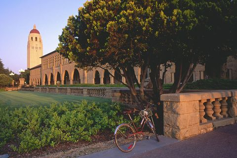 Exterior of Building at Stanford University