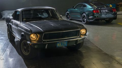 "The Original ""Bullitt"" Mustang Is Headed to Auction"