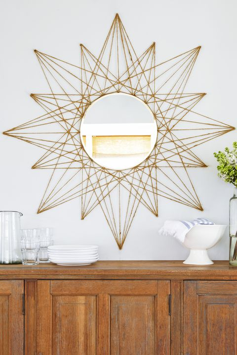Star Mirror - DIY Home Decor