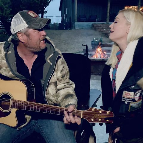 Fans React After Blake Shelton And Gwen Stefani S Nobody But You Hits No 1 God's country' — listen and read the best lyrics. fans react after blake shelton and gwen