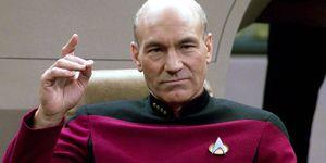 Patrick Stewart as Jean-Luc Picard, Star Trek Next Generation