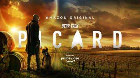 Patrick Stewart y Whoopi Goldberg - Star Trek Picard Temporada 2