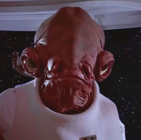 """Star Wars' Admiral Ackbar actor reduced to tears at iconic character's """"disappointing"""" Last Jedi role"""