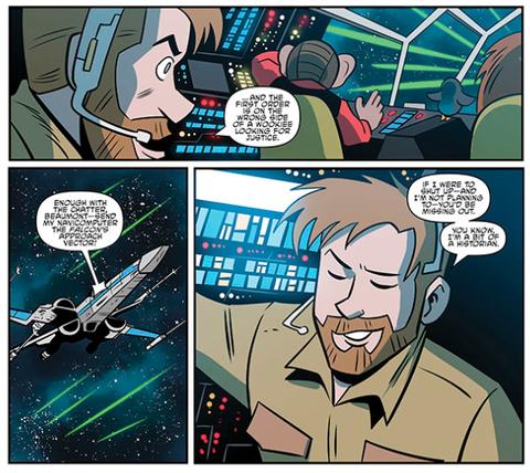 Beaumont Kin, Star Wars Adventures