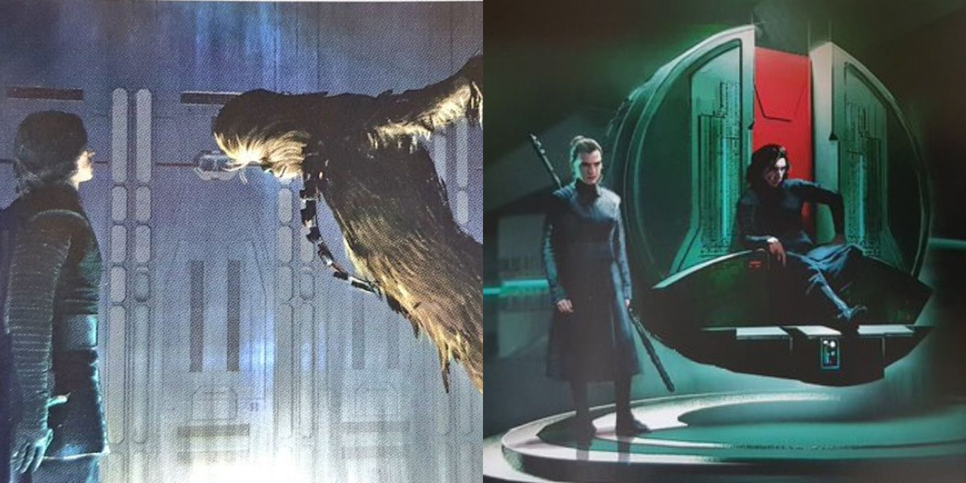 Leaked Star Wars The Rise Of Skywalker Concept Art Appears To Confirm A Better Colin Trevorrow Movie