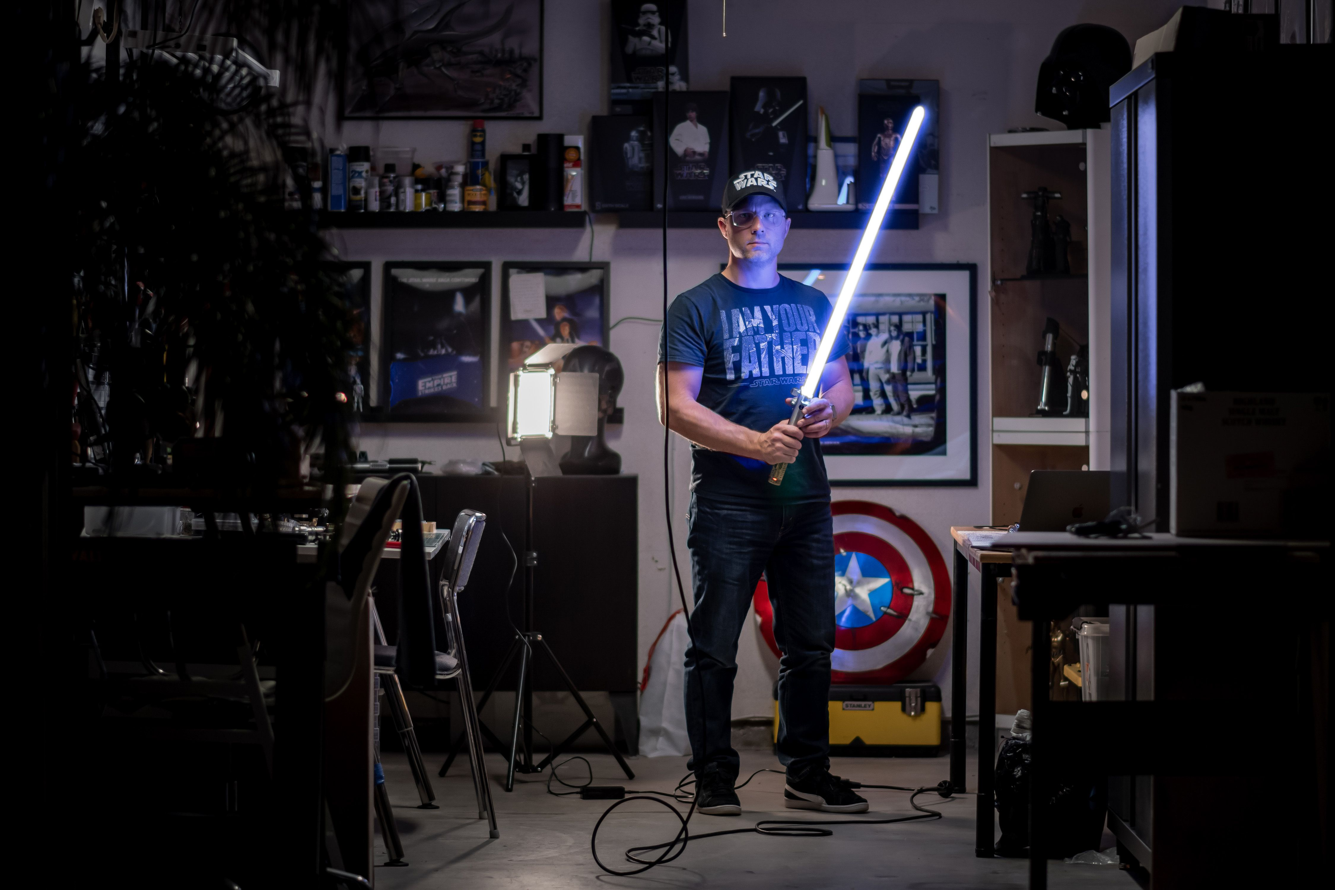 This Volvo Designer Makes Star Wars Lightsabers In His Spare Time
