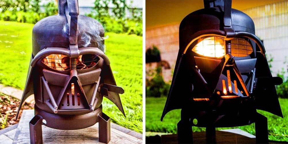 You Can Get a Darth Vader Grill That Will Bring Your Summer BBQ to the Dark Side