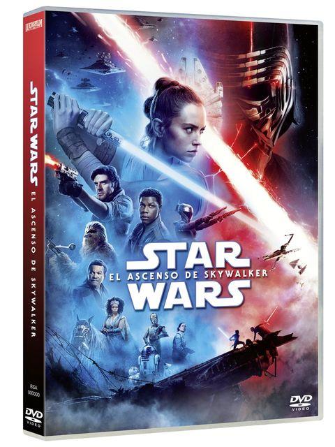 Star Wars, Detalles del DVD y Blu Ray - El Ascenso de Skywalker