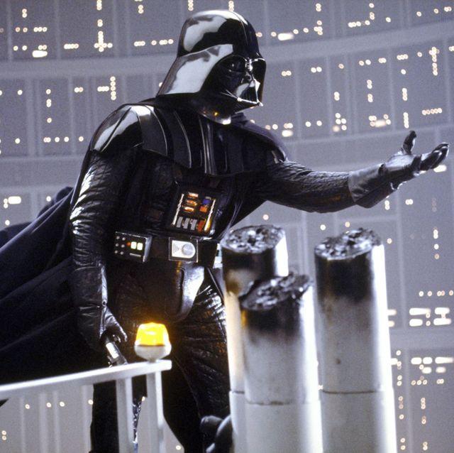 Darth Vader wzywa syna.   Obrazek z  filmu Imperium kontratakuje. Disney/Lucasfilm