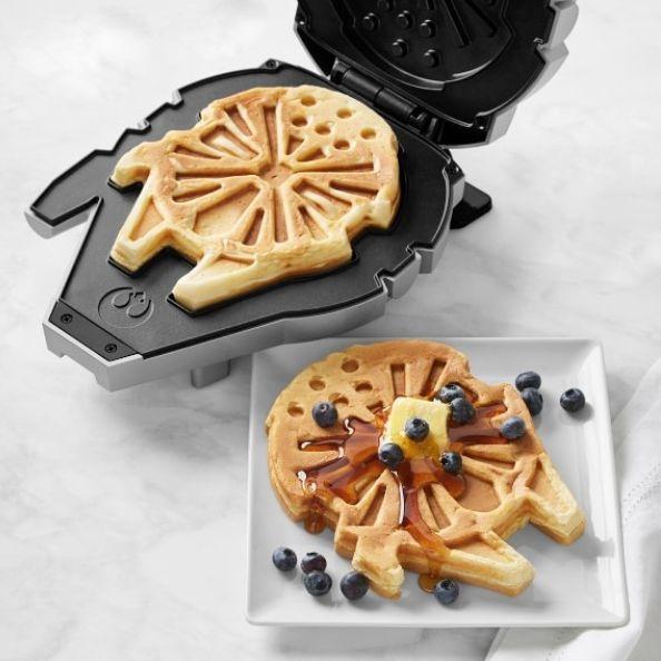 star wars gift ideas, wall art and waffle maker