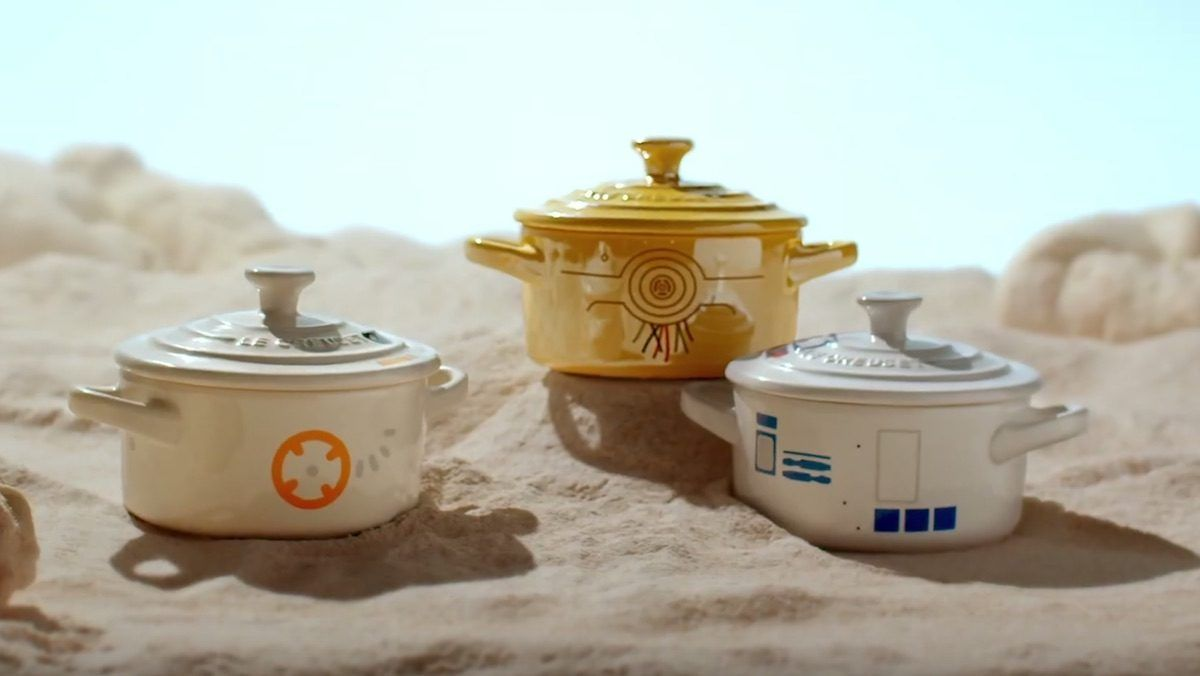 Le Creuset is launching a Star Wars cookware range