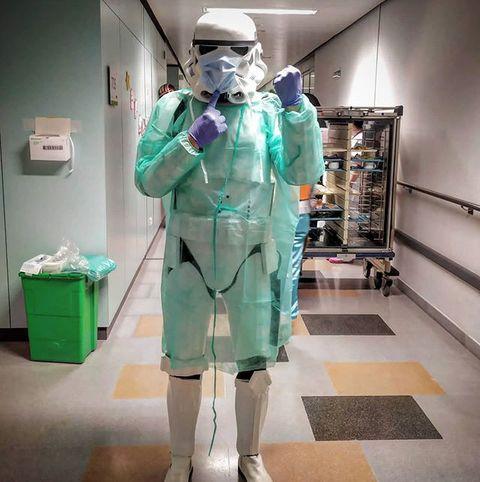 Star Wars Legion 501 solidarios coronavirus