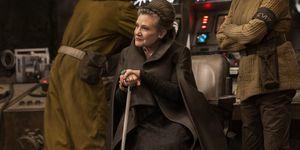Star Wars Leia agujero de guión