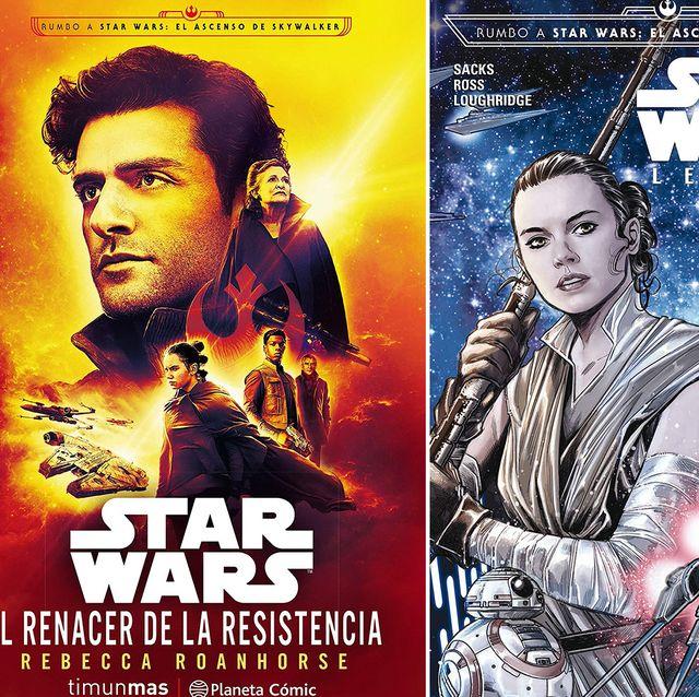 Star Wars libros y cómics