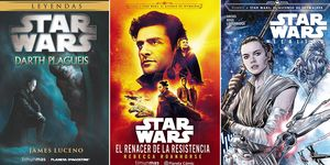 Star Wars libros y cómics