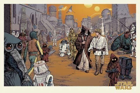 star wars poster mondo