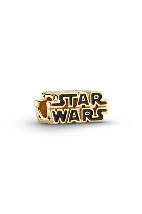 nuevo charm de pandora con logo de star wars