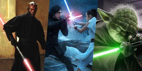 Star Wars: los 10 mejores duelos a espada láser de siempre