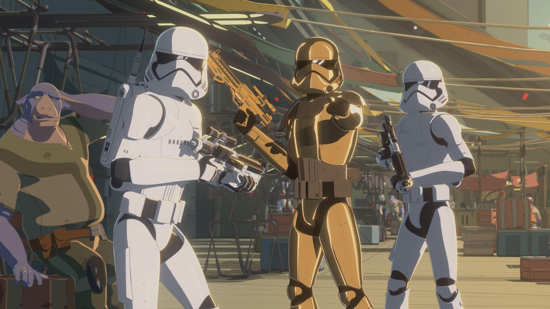 Star Wars Resistance temporada 2 - Trailer villano El despertar de la Fuerza