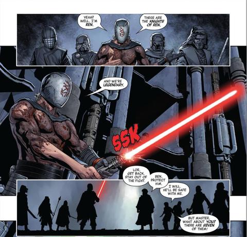 marvel comics rise of kylo ren