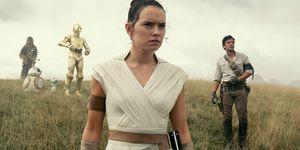 Star Wars: The Rise of Skywalker, Poe Dameron Oscar Isaac, John Boyega, FinnDaisy Ridley, Rey