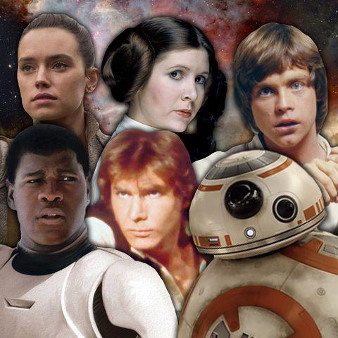 Star Wars, The Force Awakens, A New Hope, replicate film