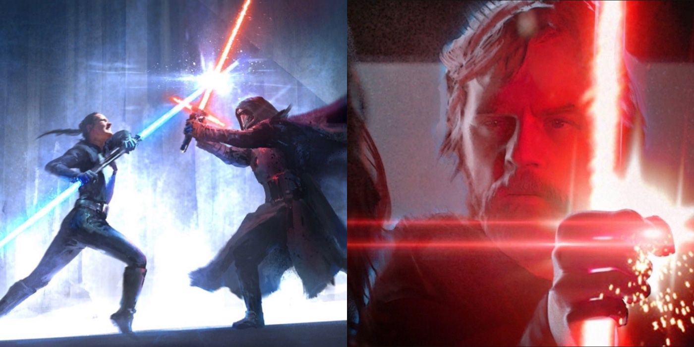 Colin Trevorrow Star Wars Art Leaks Explained The Rise Of Skywalker Could Have Been Duel Of Fates