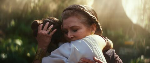 Star Wars: The Rise of Skywalker, Carrie Fisher, Princess Leia, Daisy Ridley, Rey