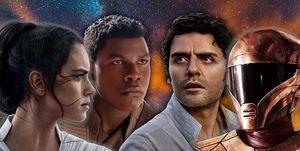 Star Wars: The Rise of Skywalker, LGBTQ, Rey Poe, Finn, Zorii