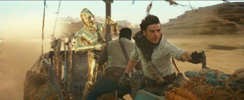 Star Wars: The Rise of Skywalker, C-3PO, Finn, John Boyega, Poe Dameron, Oscar Isaac