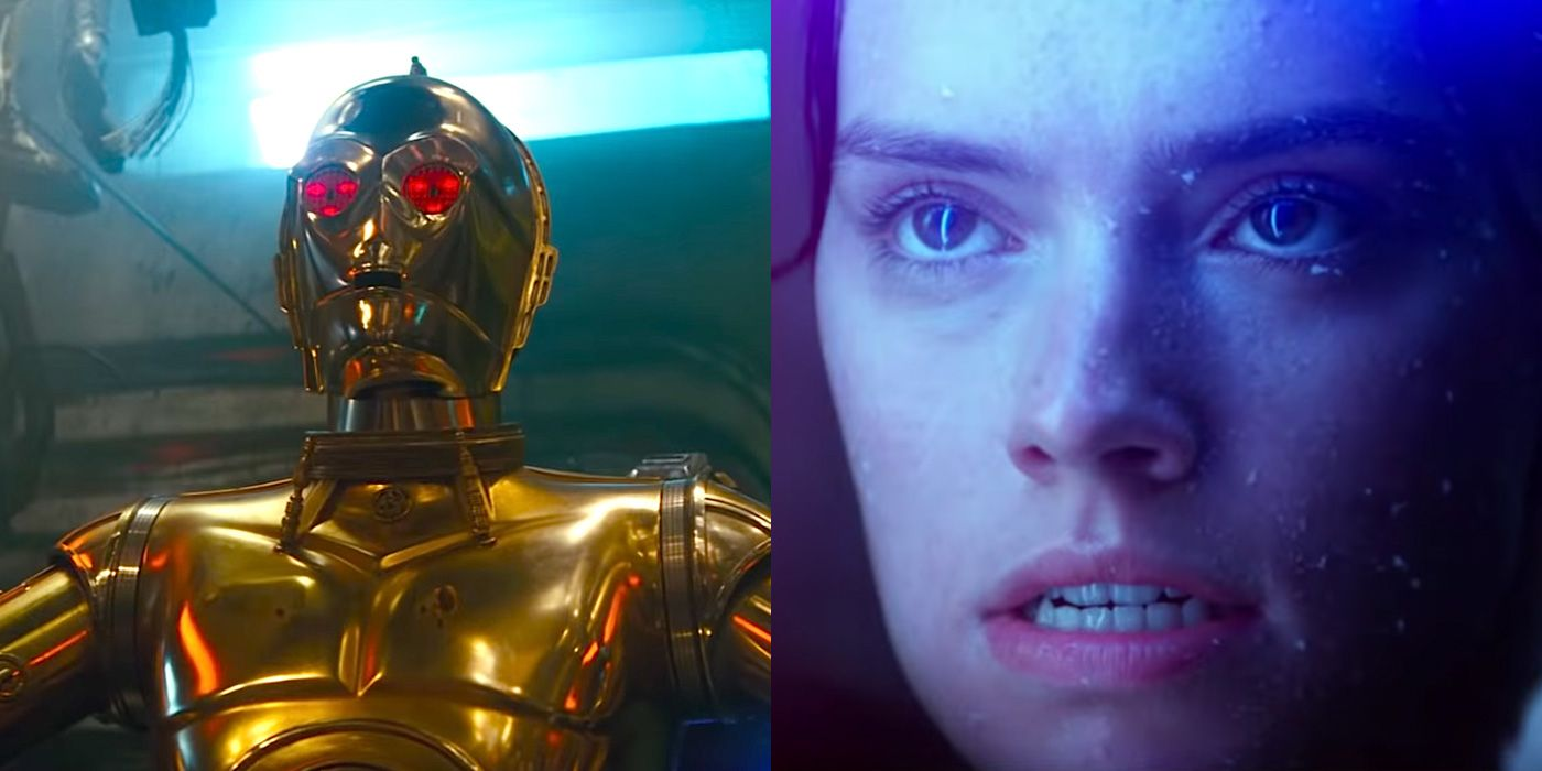 Star Wars The Rise Of Skywalker Trailer Breakdown A Deep Analysis Of C 3po Leia In The D23 Trailer
