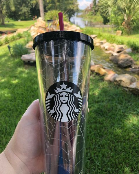 Update Starbucks Spider Web Reusable Cups Have Hit Stores
