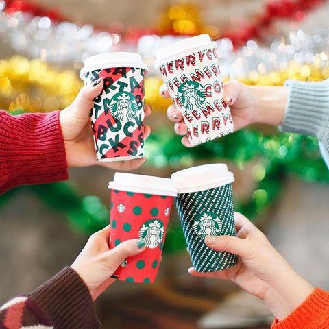Starbucks Has BOGO Holiday Drinks For