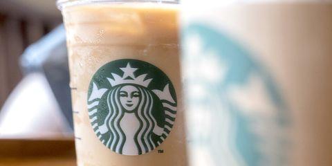 Drink, Iced coffee, Coffee, Coffee milk, Frappé coffee, Mocaccino, Smoothie, Latte macchiato, Café au lait, Food,