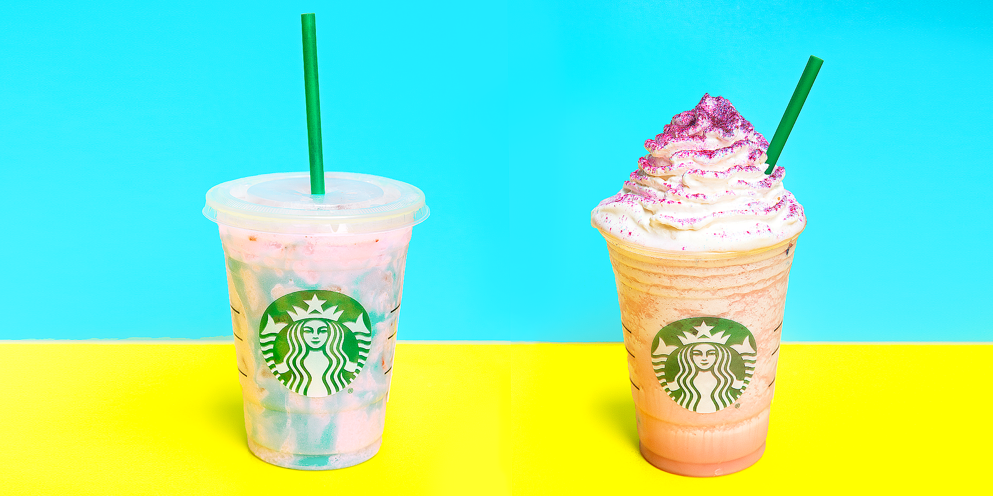 How to order a unicorn frappuccino
