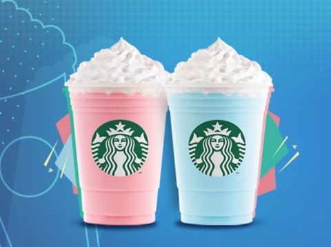 Starbucks Is Serving Bubblegum And Cotton Candy Frapps
