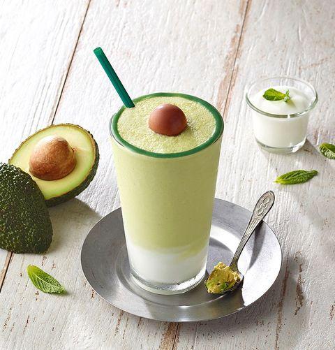 Food, Drink, Smoothie, Health shake, Vegetable juice, Ingredient, Lassi, Non-alcoholic beverage, Milkshake, Juice,
