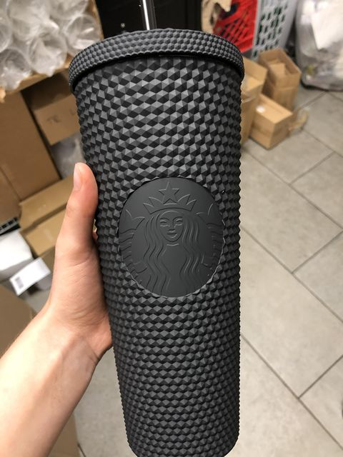 Starbucks Has a New Studded Matte-Black Tumbler, and a Cup