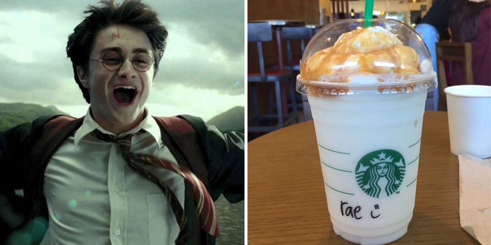 harry potter butterbeer frappuccino