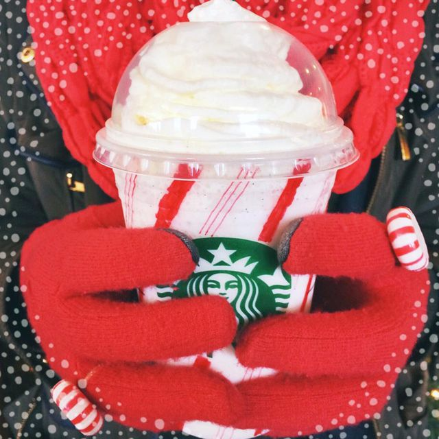 starbucks candy cane frappuccino