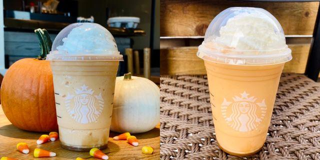 starbucks candy corn frappuccino