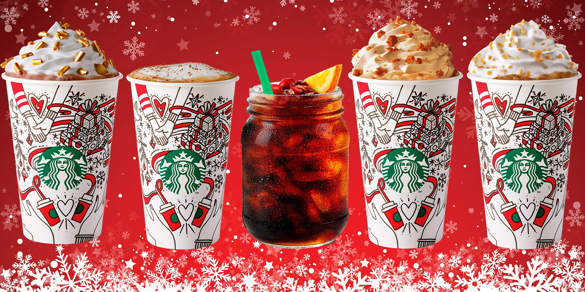 Starbucks' Christmas drinks ranked by