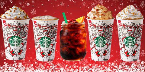 Starbucks Christmas Coffee.Starbucks Christmas Drinks Ranked By Calories