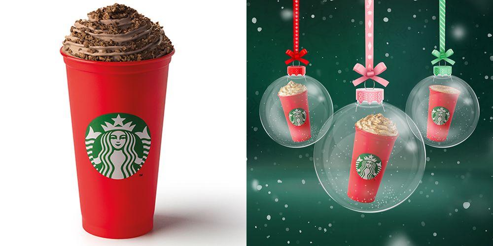 Starbucks Christmas Flavors 2020 Starbucks Christmas Drinks Menu   Festive Food And Coffees