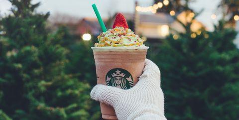 Starbucks' Christmas Tree Frappuccino