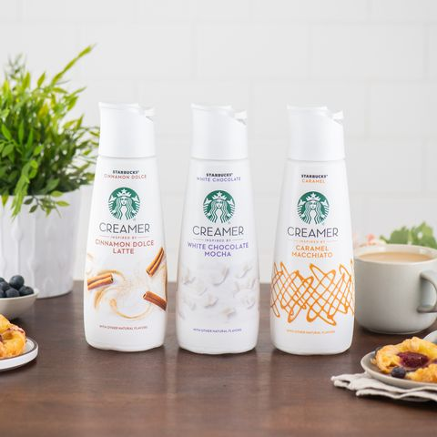 Starbucks To Sell Coffee Creamers In Grocery Stores This August